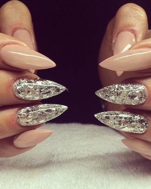 Ongles griffes diamant