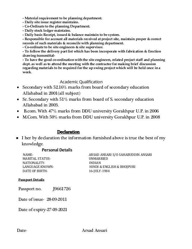Store Keeper Resume Download Resume Manager Resume Resume Format