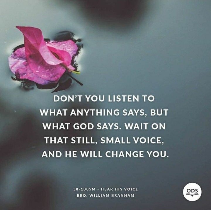 Listen to his voice 😊 | Faith | Prayer verses, Quotes about