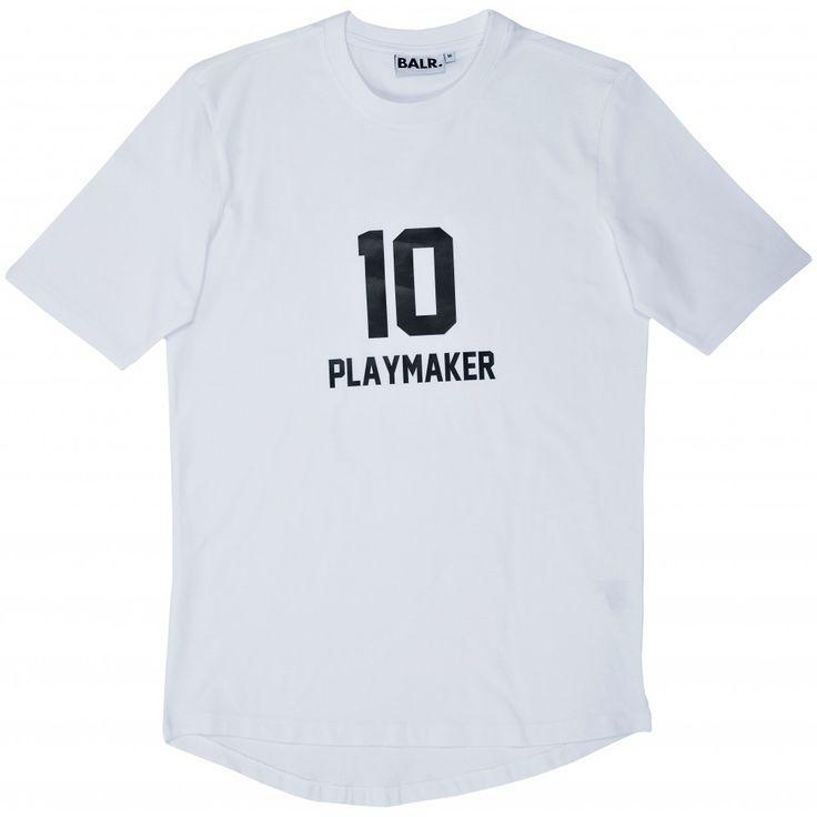 Playmaker 10 Signature Shirt White - BALR.
