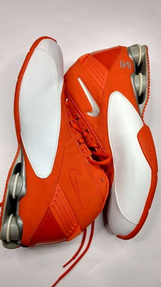 reputable site b4735 039e3 Nike Shox Zoom Air - Orange size 14 barely worn if ever!  fashion  clothing   shoes  accessories  mensshoes  athleticshoes (ebay link)
