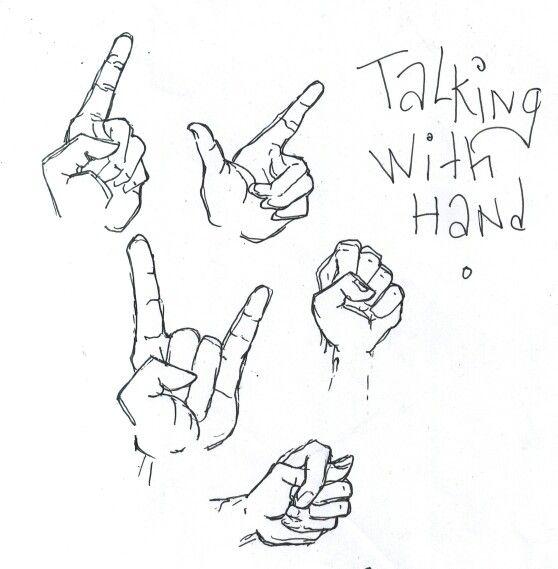Talking hand ☕