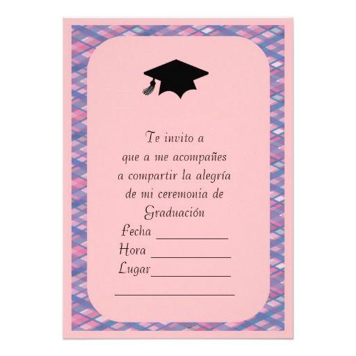 Invitaciónes de graduación de primaria para modificar e imprimir ...