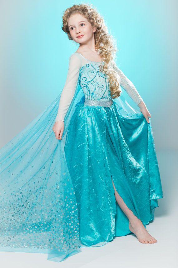 Tenemos precioso vestido de Frozen
