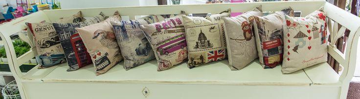 Perne decorative cu diferite teme. DecoDepot. Brasov. Pillows. Thematic. Decoratives.