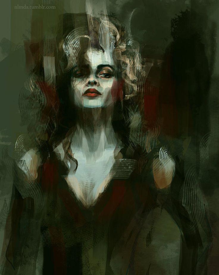 Bellatrix Lestrange by ladynlmda on DeviantArt