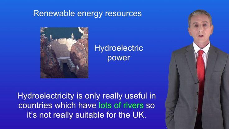 GCSE Physics (9-1) Renewable sources of energy - YouTube
