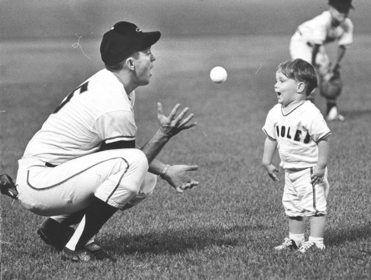 Image result for Ways father taught his son how to play baseball