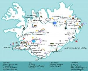 Best 25 map iceland ideas on pinterest map of iceland iceland iceland map sciox Gallery