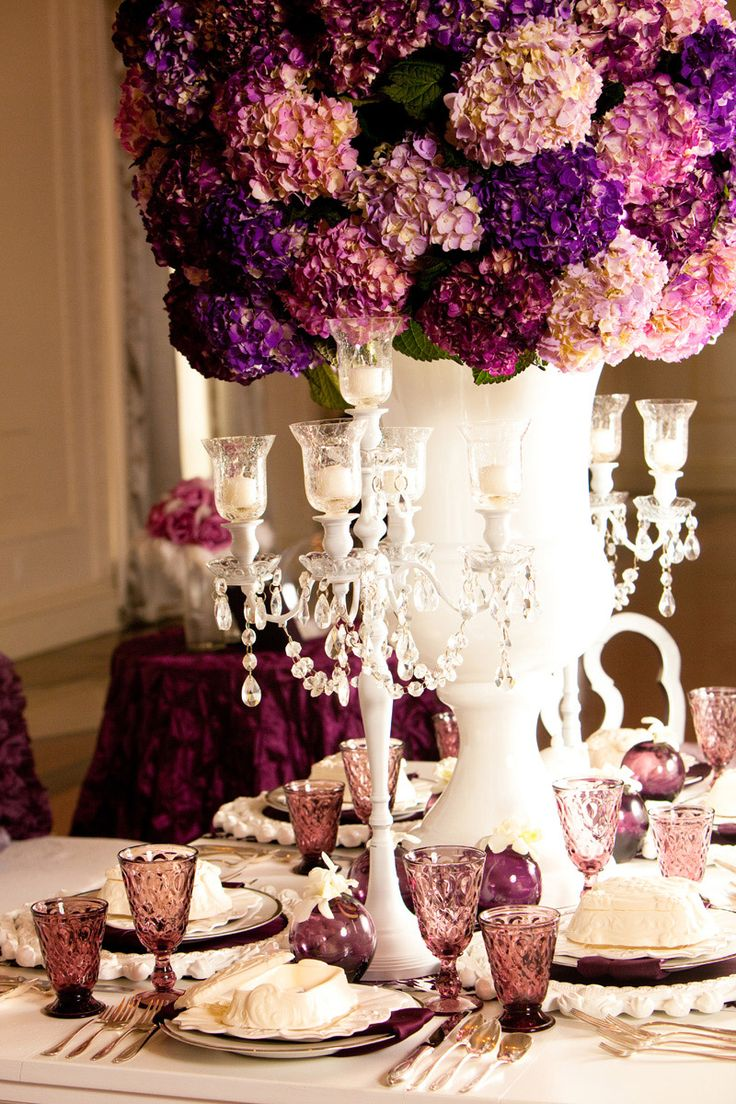 Best ideas about hydrangea wedding centerpieces on