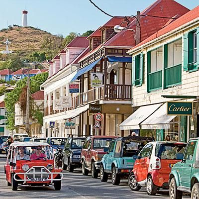 Shopping in St. Barts. Coastalliving.com