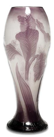 This vase is by Emile Galle  www.watermehealthy.com