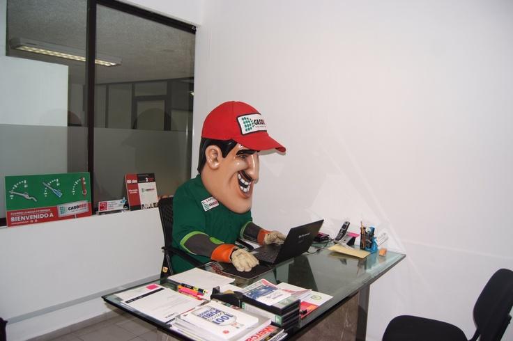 En la oficina!!