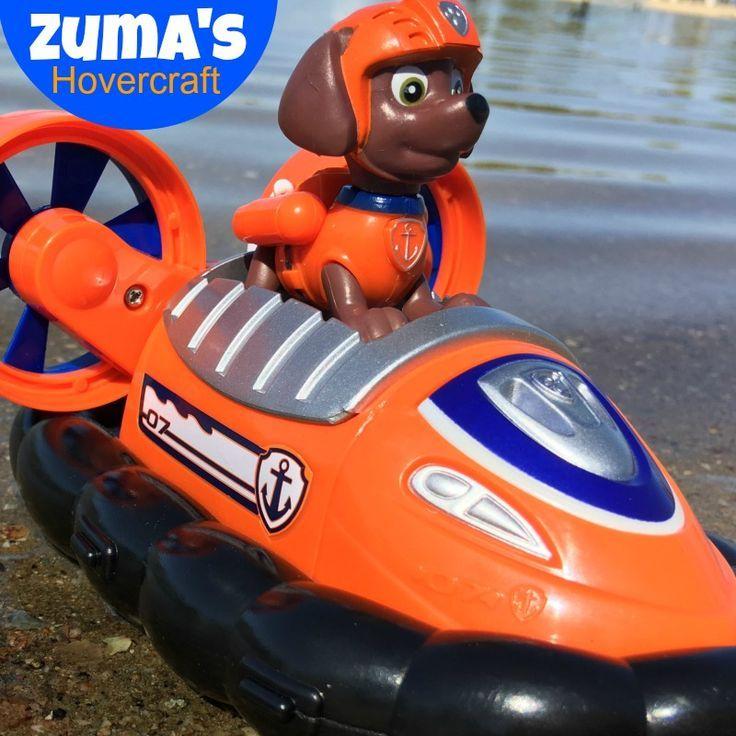Zuma Paw Patrol hovercraft