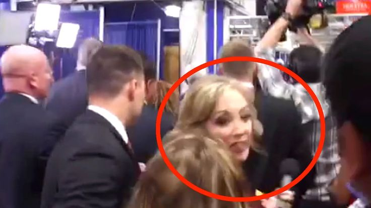"""""""Thanks A Lot, B*TCH!"""" Debate Reporter Goes Viral 