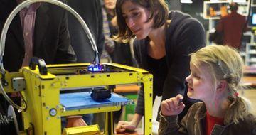 Amsterdamse actie tijdens 3D printweek (gratis entree/registreren vereist)