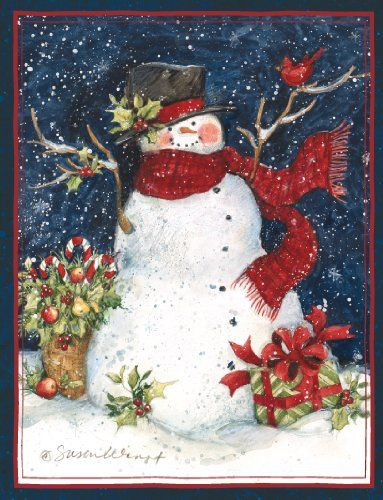 Perfect Timing - Lang Snowman Scarf Boxed Christmas Card, 5.38 x 6.88 Inches, 18 cards with 19 envelopes (1004689) Lang http://smile.amazon.com/dp/B00DH0Q81U/ref=cm_sw_r_pi_dp_Z19Nwb1WHNC3H