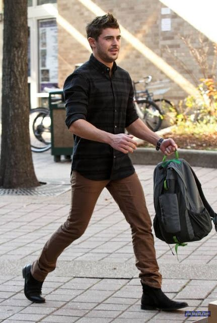 The Thing Called Fashion: STYLE WATCH: ZAC EFRON