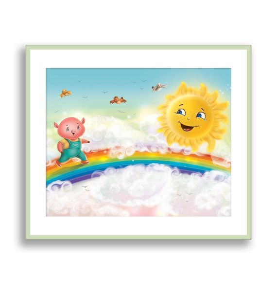 Childrens Wall Decor 49 best animal wall art canvas nursery print images on pinterest