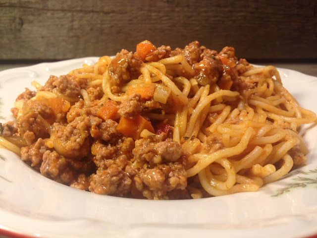 Mish-Mash: Спагети Болонезе