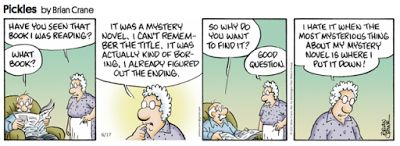 Mystery Fanfare: Cartoon of the Day: Mystery Novel