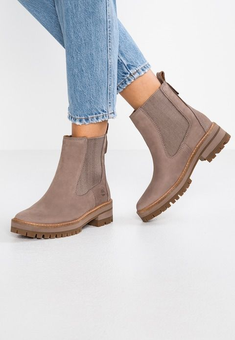 f9eb20a073a9b2 Timberland COURMAYEUR VALLEY CHELSEA - Stiefelette - taupe grey - Zalando.de