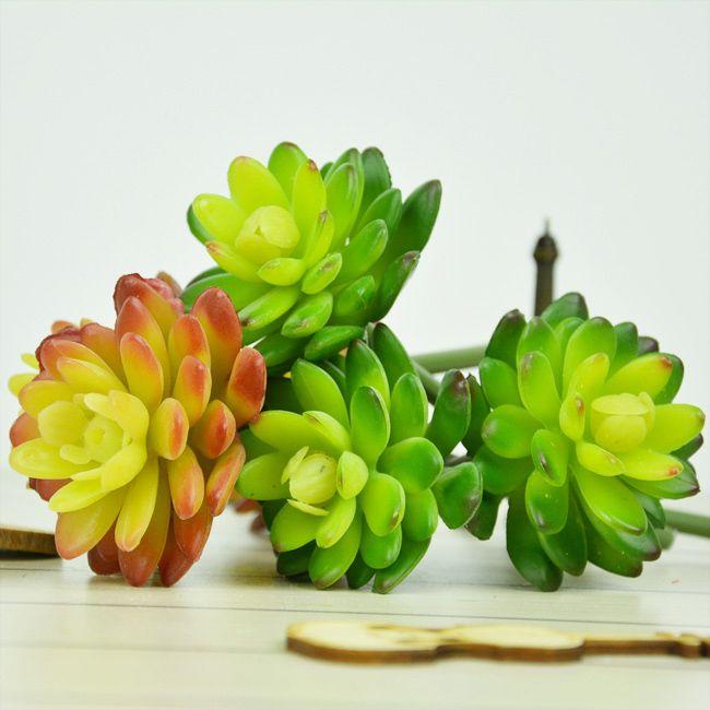 Лотоса индивидуальные стены цветы украшения искусственные растения пейзаж расположение декор сада сочные травы пустынных растений