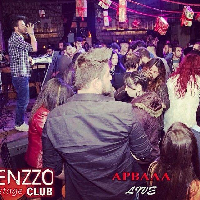 """Live @Enzzo Bournazi!! #live #perform #thankyouall"""