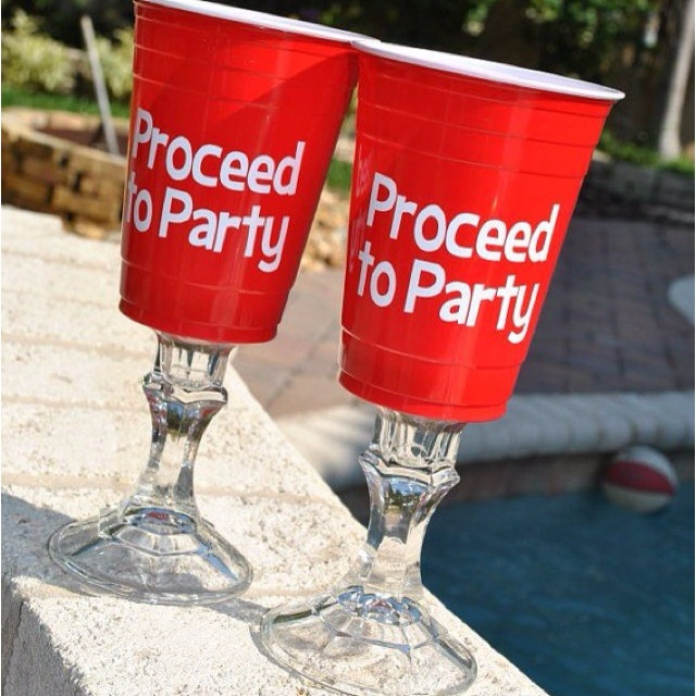 Fancy Red Solo Cups Dirty 30 Beer Party Pinterest