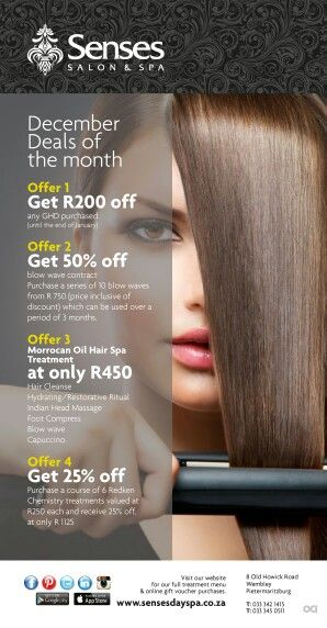 Summer Specials at the Hair Salon
