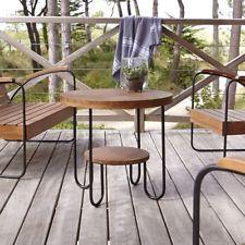 Tavolino tavolo basso legno massello teak teck tek esterno giardino terrazzo