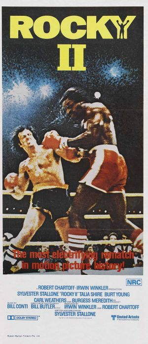 "Cinema: Posters ""Rocky II"""
