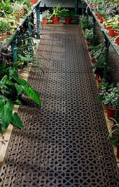greenhouse floor ideas                                                                                                                                                                                 More