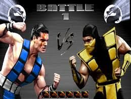 Mortal Kombat 3 Sub Zero vs Scorpion