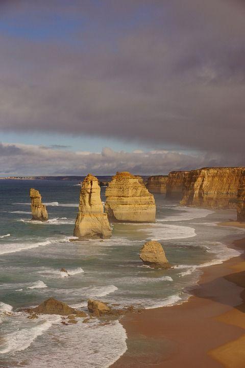 Australia, Great Ocean Road, Coast, Surf