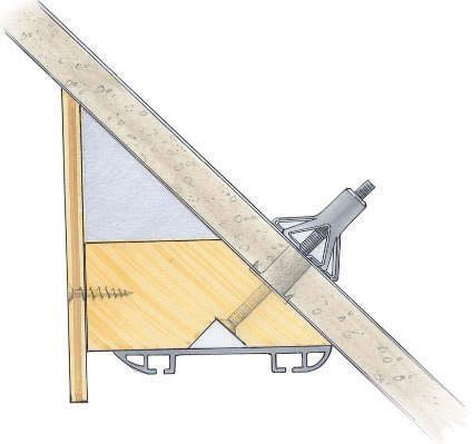 Awesome Schr ger Ausgleich Wenn Sie Schiebet ren an einer Schr ge befestigen wollen hilft ein selbstgefertigter Ausgleich
