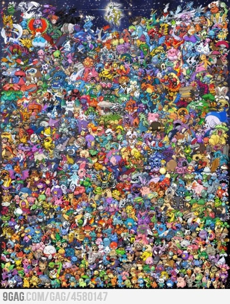 Just 649 Pokemon