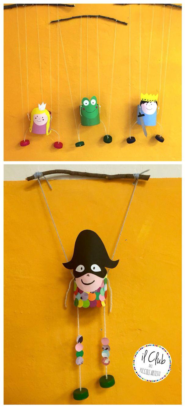 Recycled work, il cilindro di cartone si trasforma in chi vuoi tu..... Club dei piccoli artisti Verona Fb: clubdeipiccoliartisti  clubdeipiccoliartisti@yahoo.it