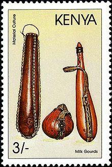 Kenya: A modern stamp of Kenya.