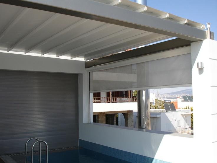 Pergole Unica 165 pentru terase si piscine acoperite, pergole retractabile Gibus cu structura robusta din aluminiu care pot acoperi suprafete mari. Gama larga de aplicatii comerciale sau casnice cu Unica 165. Calitate si confort Gibus, preturi excelente.