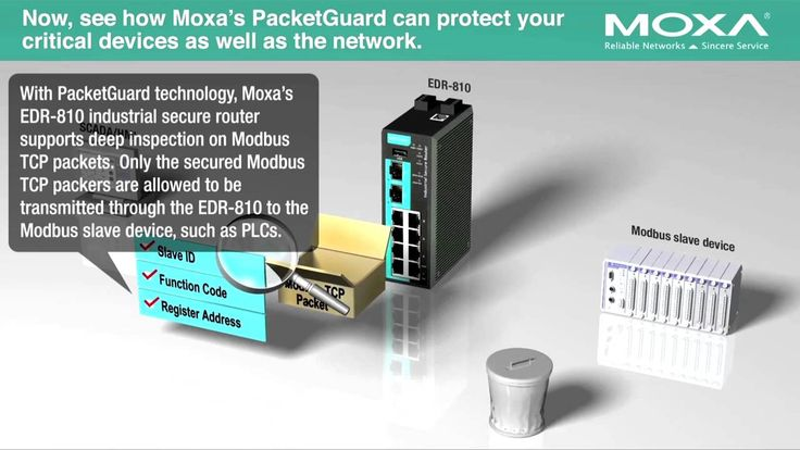 Stop Unsafe Modbus Packets with Moxa's PacketGuard Technology
