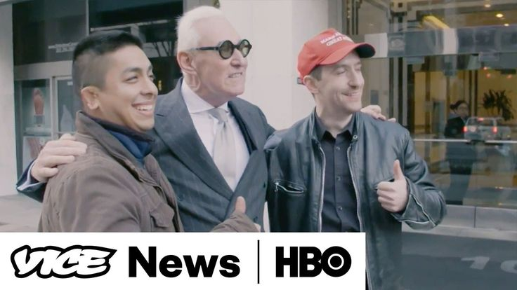 Roger Stone and the Deploraball - VICE News Tonight on HBO (Full Segment)