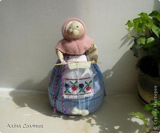 Куклы Шитьё Кукла-мотанка Ткань фото 20