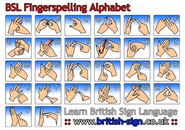 British Sign Language. Good for those with hearing impairments but good for all children.