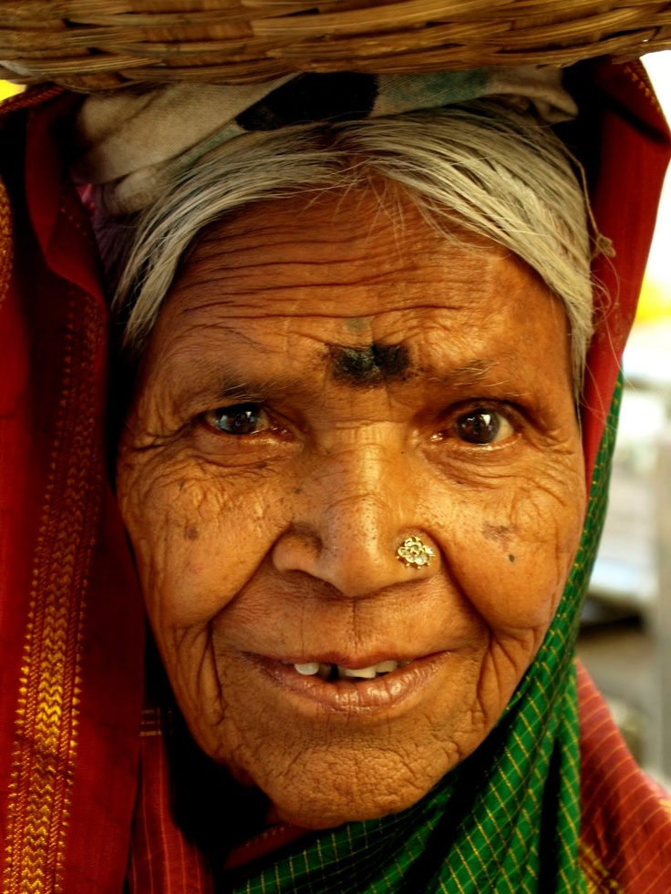 Face of an elder woman in Rajasthan, India. | Photography ...