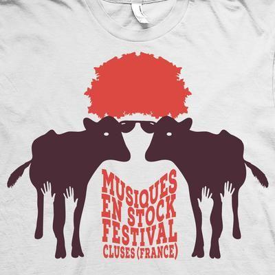 Design for rock festival  shirt