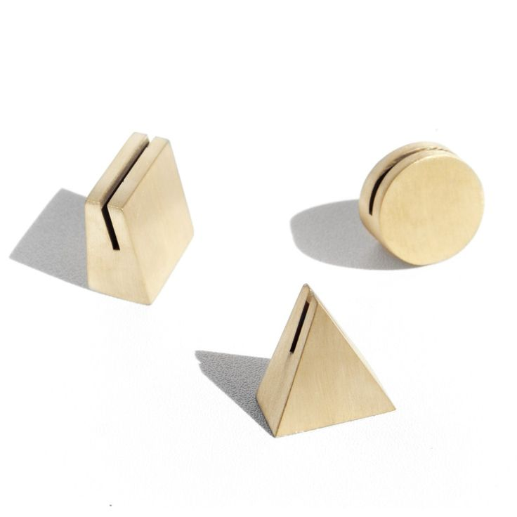 brass geo stands / yield design co.