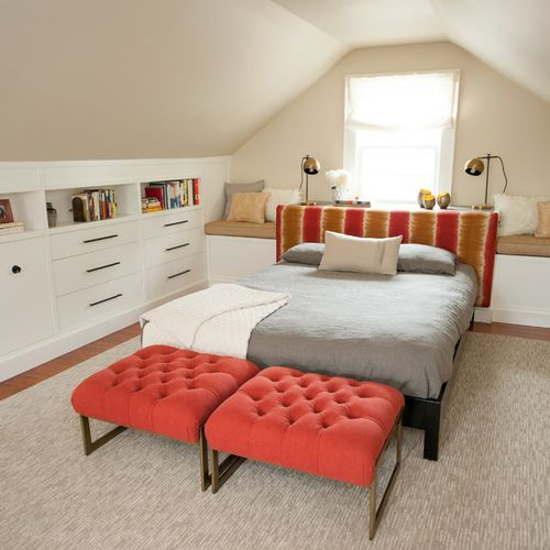 Bonus Room Bedroom Design Ideas, Remodels & Photos | Houzz