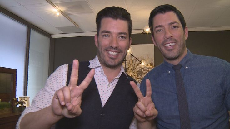 Famous for building and decorating houses on HGTV, Jonathan and Drew Scott are stopping at the High Point Furniture Market to show their own creations on Saturday.