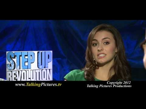 Kathryn McCormick & Ryan Guzman chat with Tony about their new film Step Up Revolution